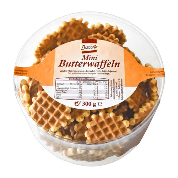 BISCOTTO     Mini Butterwaffeln