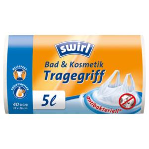Swirl Tragegriff-Müllbeutel 5l, 40 Stück