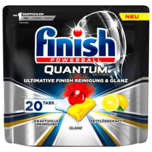 Finish Powerball Quantum Ultimate Citrus 250g, 20 Tabs