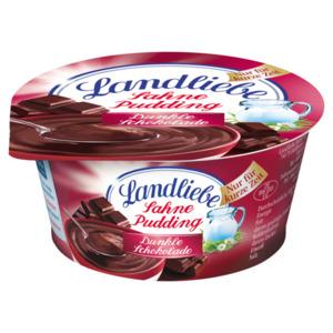 Landliebe Sahnepudding Dunkle Schokolade 150g