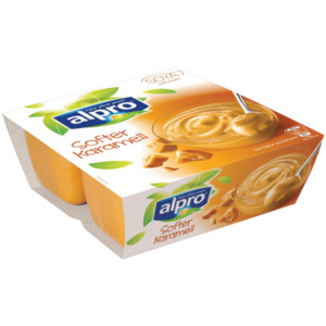 Alpro Soja-Dessert Caramel 4x125g