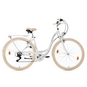 KS Cycling Damenfahrrad Cityrad 6-Gänge Balloon 28 Zoll