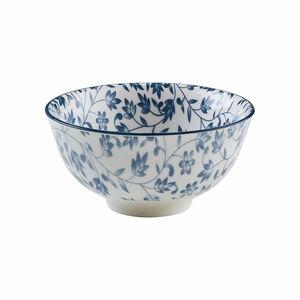 Butlers Blue Bonnet Schale Blumen Ø 11,5 cm blau-weiss blau-weiß