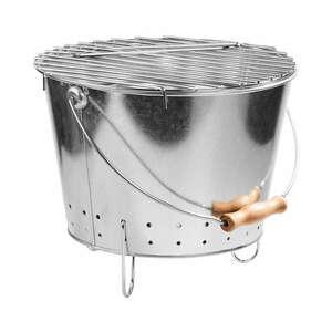 Butlers BBQ Grilleimer mit Tragegriff mint