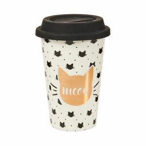 Butlers Coffee Deluxe Kaffeebecher To Go 400 ml weiß