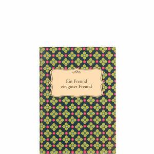 Butlers Booklet Ein Freund ein guter Freund bunt
