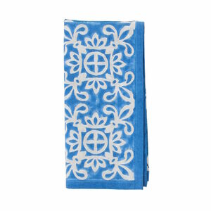 Butlers Blue Marocco Serviette blau blau