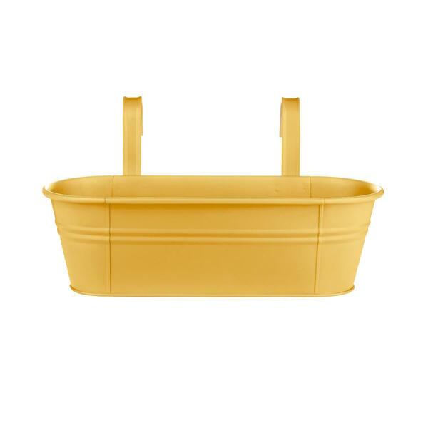 Butlers Zinc HängeTopf 3er 50 cm gelb