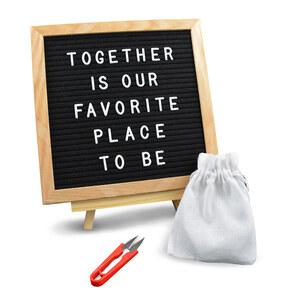 Geschenke.de Letterboards mit Buchstaben