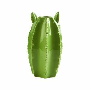Butlers Cactus Keramik Vase 20 cm gruen