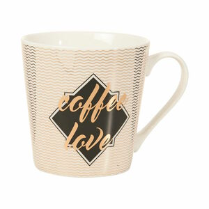 Butlers Coffee Deluxe Tasse Coffee Love 350 ml weiss weiß