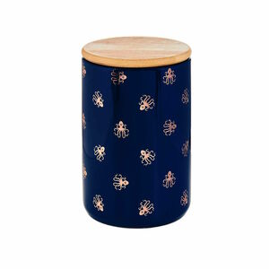 Butlers Queen It Aufbewahrungsdose Oktopus 700 ml blau-gold blau-gold