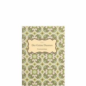 Butlers Booklet Der grüne Daumen bunt