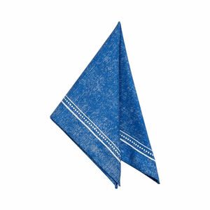 Butlers Tuscany Serviette blau blau