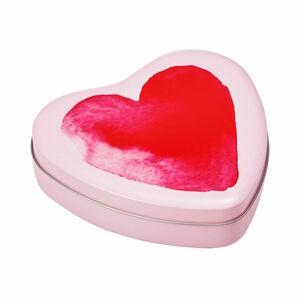 Butlers Painted Love Dose Aquarellherz rosa rosa