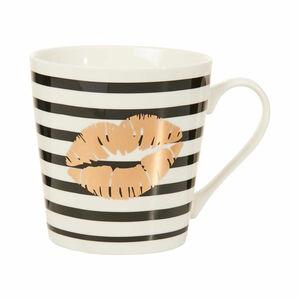 Butlers Coffee Deluxe Tasse Kiss 350 ml weiss weiß