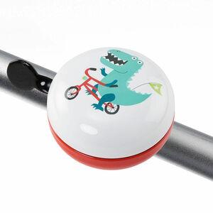 Butlers Ding Dong Fahrradklingel Dino weiss
