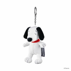 Butlers Peanuts Schlüsselanhänger Plüsch Snoopy weiß