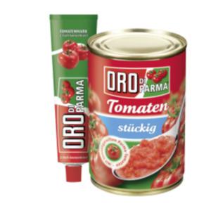 Oro di Parma Tomaten, Tomatenmark oder Sauce