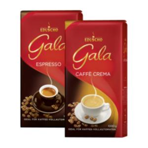 Eduscho Gala Caffé Crema oder Espresso