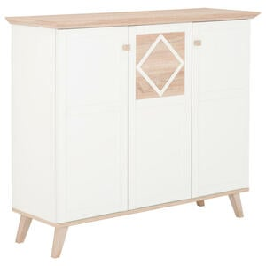 Carryhome HIGHBOARD Weiß, Braun