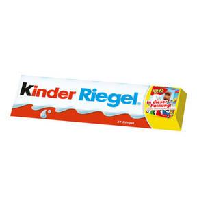 FERRERO             Kinder Mega-Riegel 27er + Uno-Pocket-Spiel, 567g
