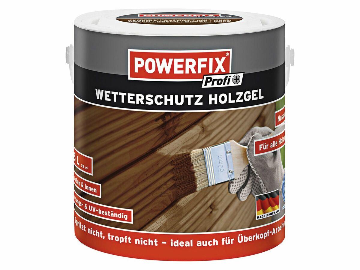 Bild 2 von POWERFIX® Wetterschutz-Holzgel