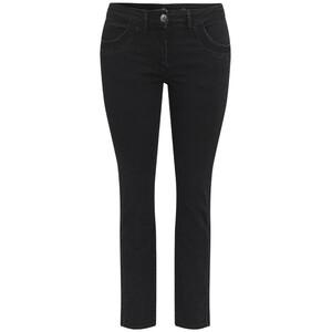 Damen Slim-Jeans mit Used-Waschung