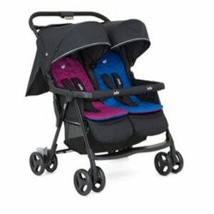 Joie - Zwillingsbuggy AireTwin, Pink and Blue