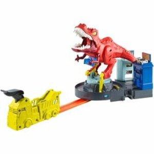 Hot Wheels - City Spielset: T-Rex Attacke