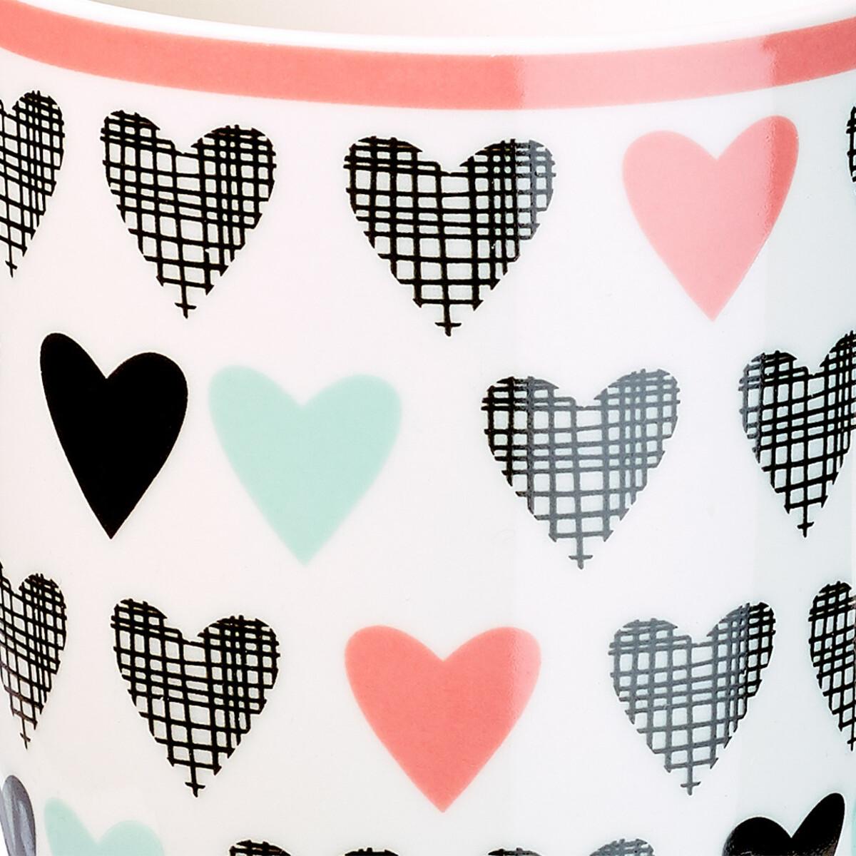 Bild 2 von Tasse mit Allover-Muster