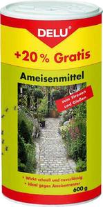 Ameisen Mittel zum Gießen und Streuen, 600 g Delu