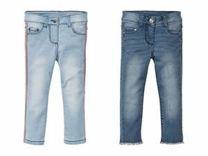 LUPILU® Kleinkinder Mädchen Skinny Jeans