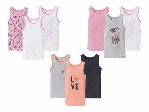 LUPILU® 3 Kleinkinder Mädchen Unterhemden