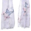 Bild 2 von Damen Tuch mit Schmetterlingen allover