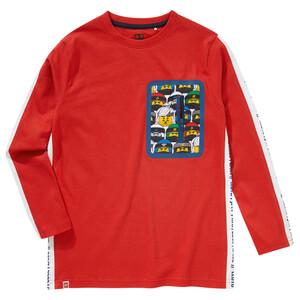LEGO Ninjago Langarmshirt mit Zippertasche