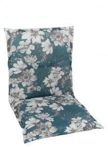 GO-DE Sessel-Auflage ,  nieder, petrol, 100 x 50 x 6 cm