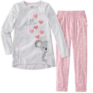 Mädchen Schlafanzug mit Koalabär-Motiven