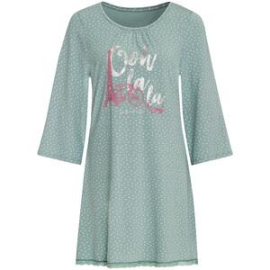 Damen Nachthemd im Pünktchen-Dessin