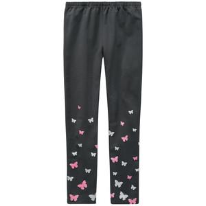 Mädchen Leggings mit Schmetterling-Motiven