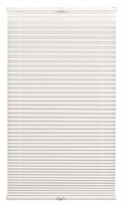 Gardinia Plissee Mini ,  weiß, 70 x 130 cm