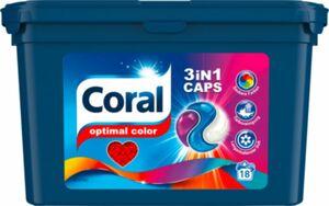 Coral 3in1 Colorwaschmittel 18 Waschladungen