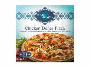 Chicken Döner Pizza