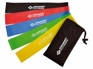 Schildkröt Fitness Mini Resistance Band 5er Set
