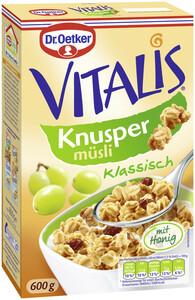 Dr.Oetker Vitalis Knusper Müsli mit Honig 600 g