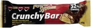 Power System Crunchy Bar Vanille Geschmack 32% Eiweiss 45 g