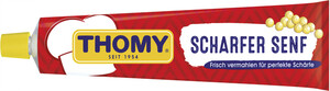 Thomy Scharfer Senf in der Tube groß 200 ml