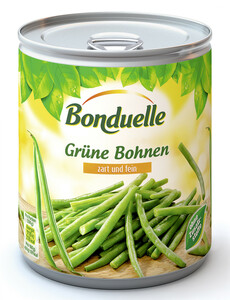 Bonduelle Grüne Bohnen zart und fein 800 g