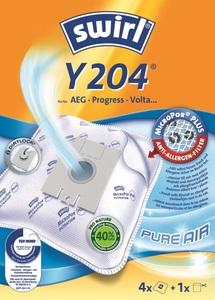 Swirl Staubsaugerbeutel Y204 MicroPor Plus Pure Air 4 Stück