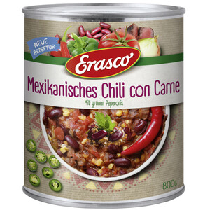 Erasco Mexikanisches Chili con Carne 800 g